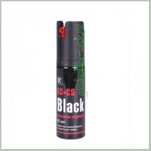 Струйно-аэрозольный газовый баллончик «Black» 25 мл